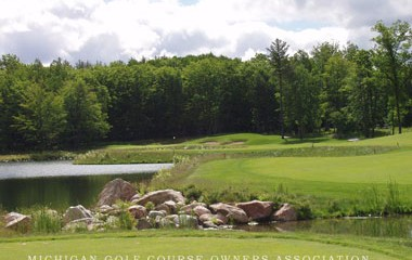 The 6th hole at Timberstone